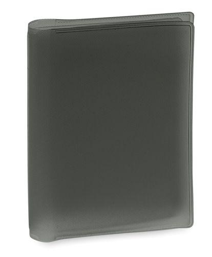 Obal na kreditní karty černý, 6 přihrádek