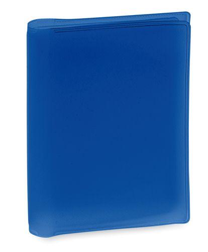Obal na kreditní karty modrý, 6 přihrádek