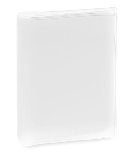 Obal na kreditní karty bílý, 6 přihrádek