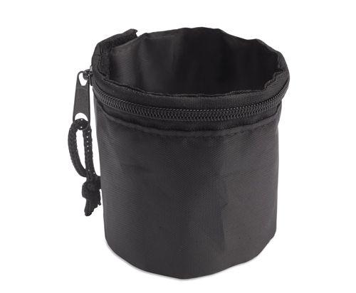 Černá peněženka na zápěstí polyester