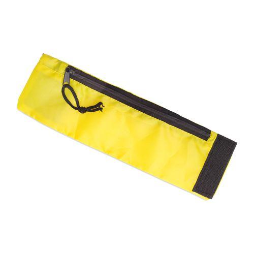 Žlutá peněženka na zápěstí polyester
