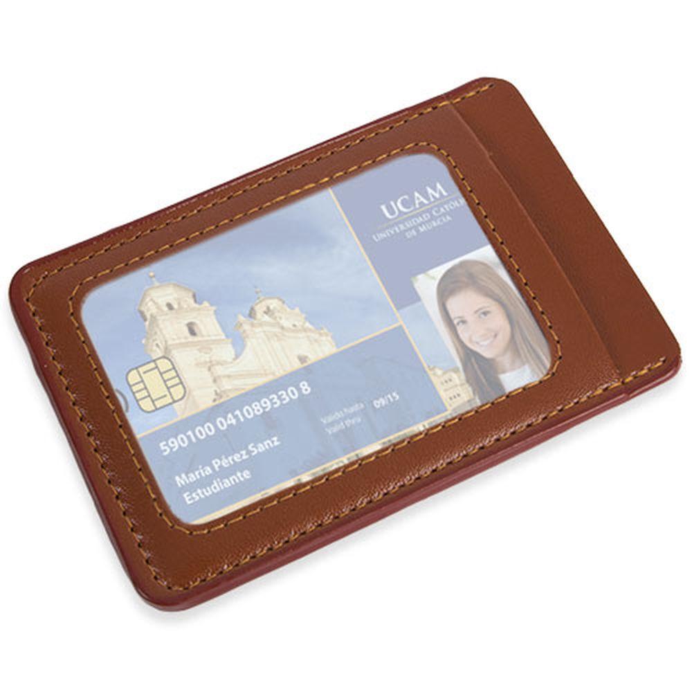 Peněženka na karty hnědá