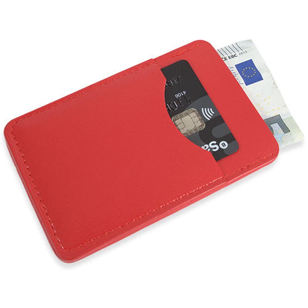 Peněženka na karty červená