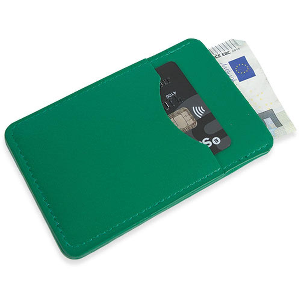 Peněženka na karty zelená