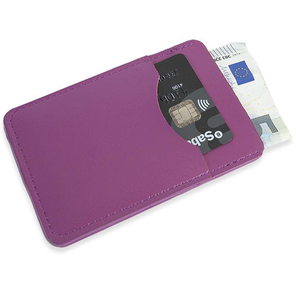 Peněženka na karty fialová