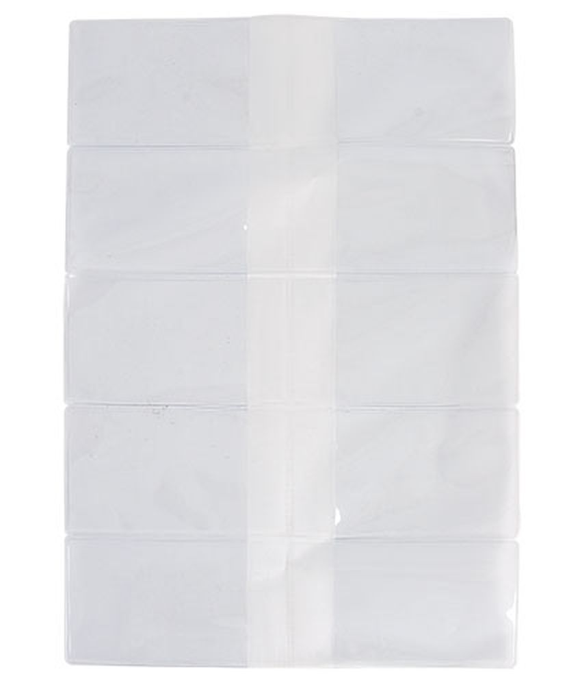 Obal na 2 ks karet transparentní