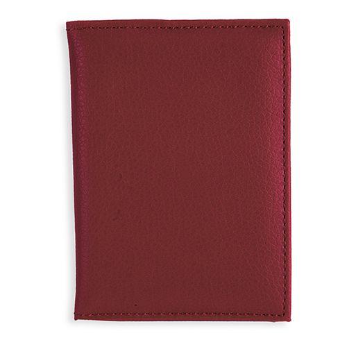 Peněženka Confort tmavě červená