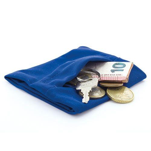 Peněženka na zápěstí modrá