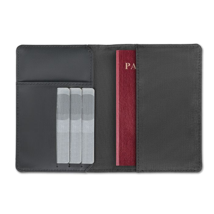 Dvoubarevný obal na pas