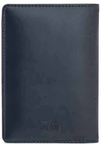 Koženková peněženka, námořnická modrá