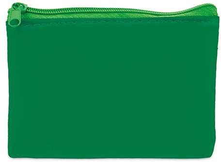 Peněženka se zipem, zelená