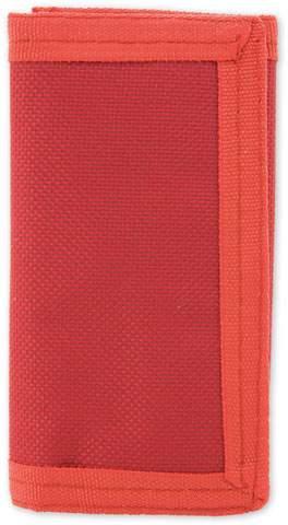 Peněženka s kroužkem na klíče, červená