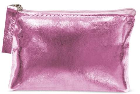 Peněženka se zipem, fialová