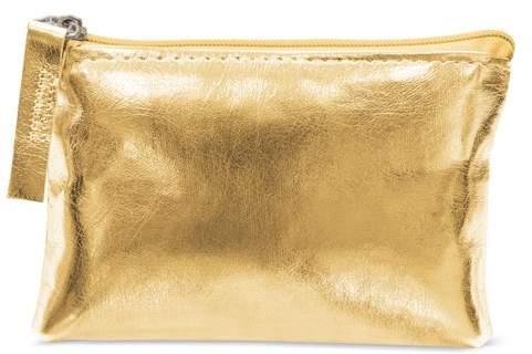Peněženka se zipem, zlatá