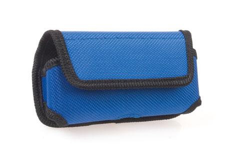 Modré pouzdro na mobilní telefon