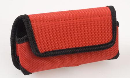 Červené pouzdro na mobilní telefon