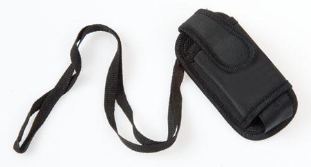 Černé pouzdro na mobilní telefon