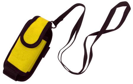 Pouzdro žluté na mobilní telefon