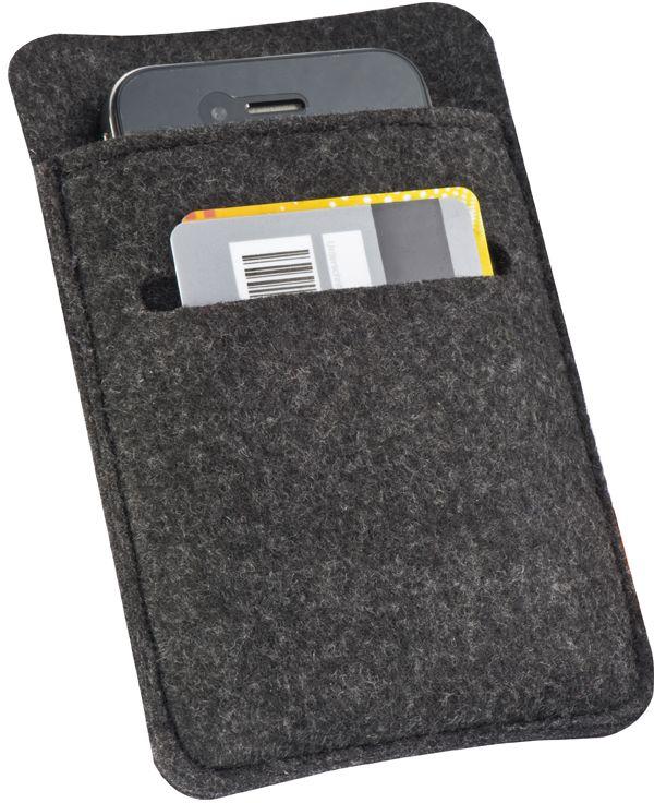 Obal na mobil s přihrádkou na karty