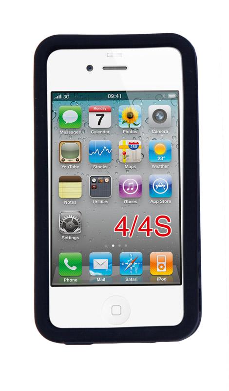 Černé pouzdro na iPhone