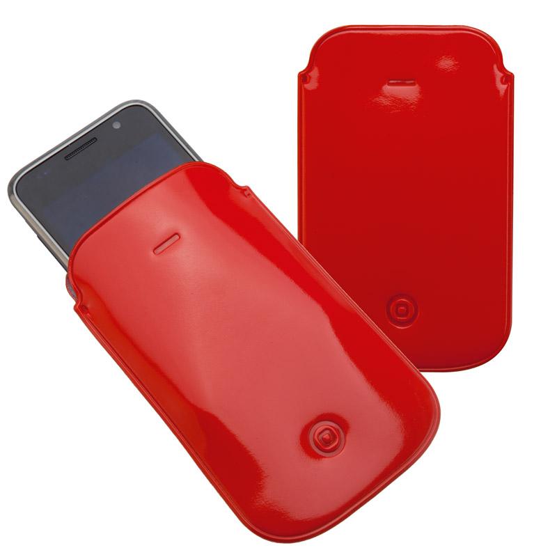 Červený obal na iPhone