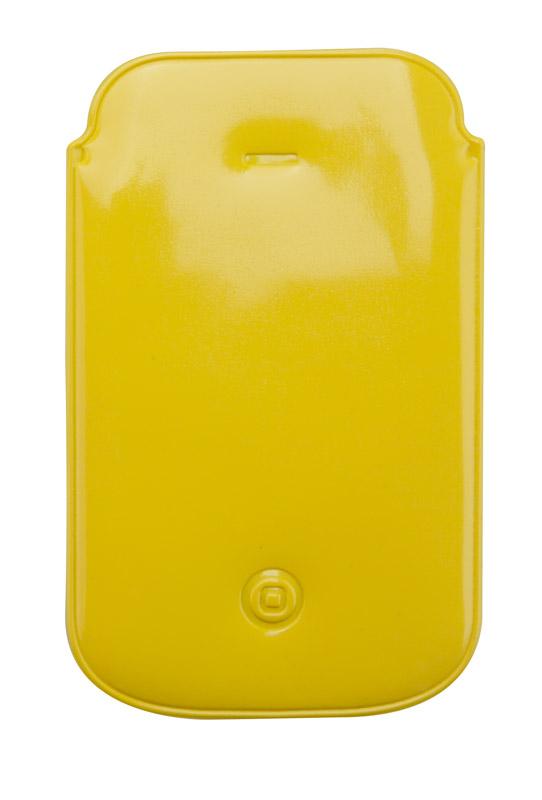 Žlutý obal na iPhone