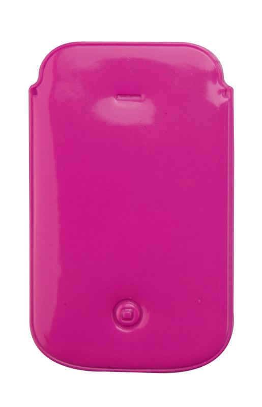 Růžový obal na iPhone