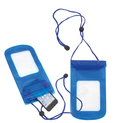 Tamy modré voděodolné pouzdro na mobil