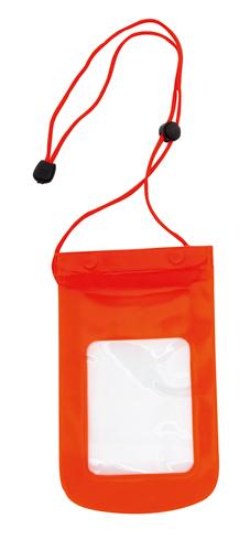 Tamy červené voděodolné pouzdro na mobil