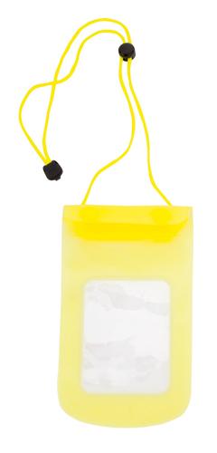 Tamy žluté voděodolné pouzdro na mobil