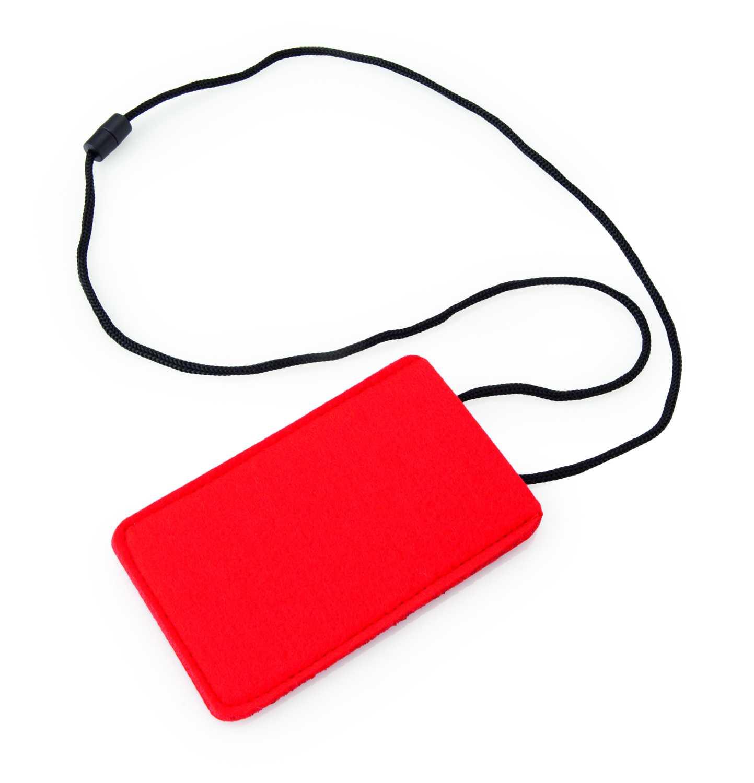 Keko červený obal na mobil