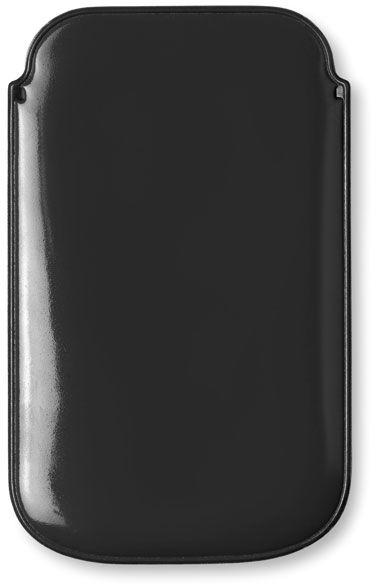 Černé pouzdro na chytrý telefon