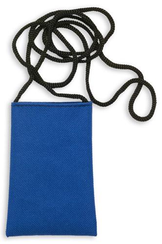 Ozores modré pouzdro na mobilní telefon se šňůrkou
