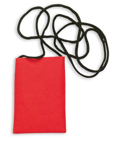 Ozores červené pouzdro na mobilní telefon se šňůrkou