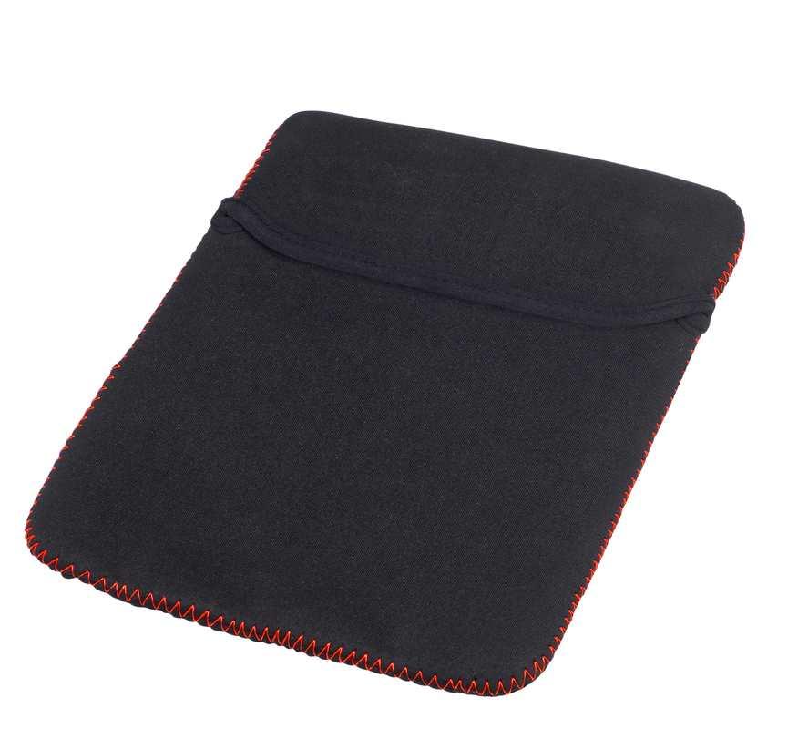 Mini červený obal na iPad s potiskem