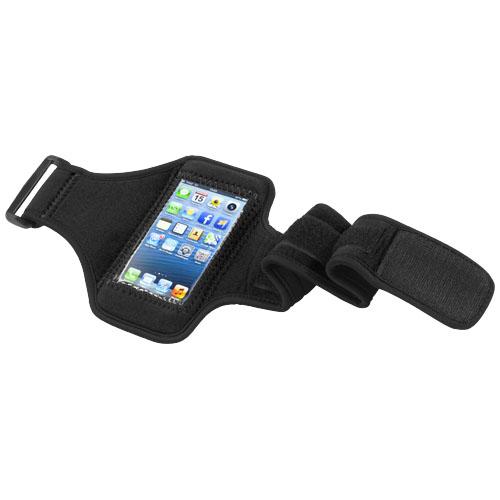 Černý pažní pás pro iPhone5