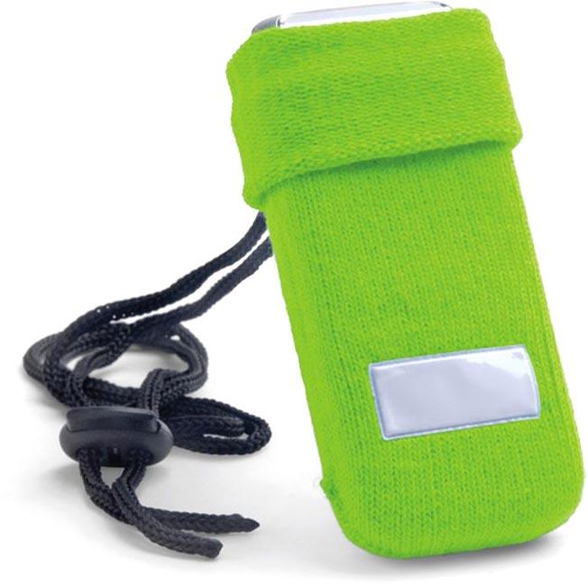 Obal na mobilní telefon světle zelený