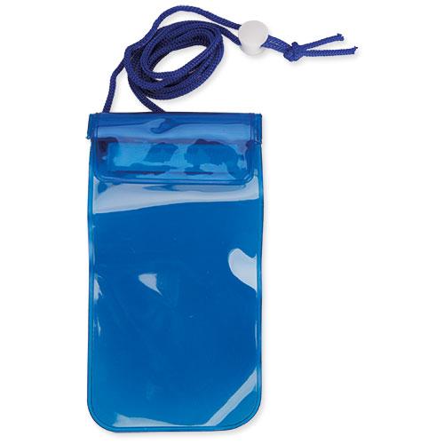 Voděodolný obal na mobil modrý