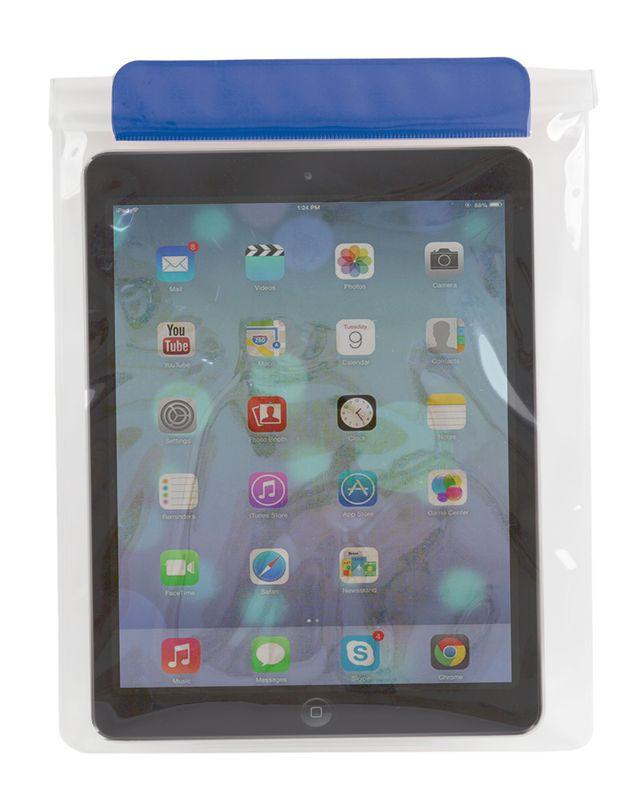 Voděodolný obal na tablet modrý