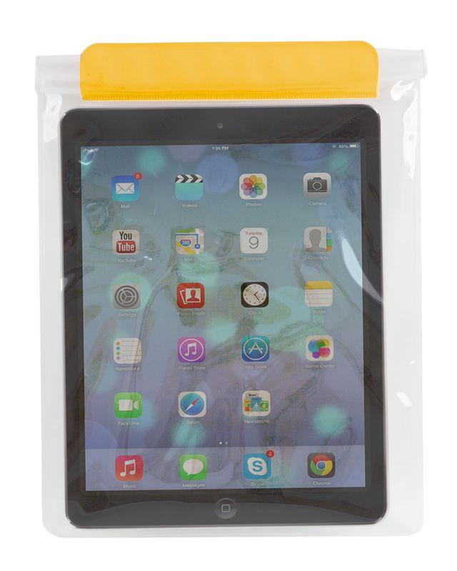 Voděodolný obal na tablet žlutý
