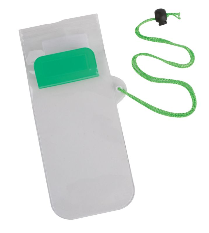 Obal na mobil  zelený