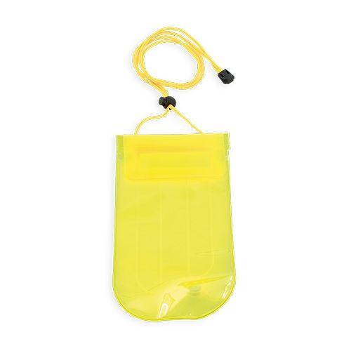 Nafukovací voděodolná kapsička žlutá