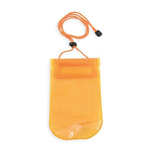 Nafukovací voděodolná kapsička oranžová