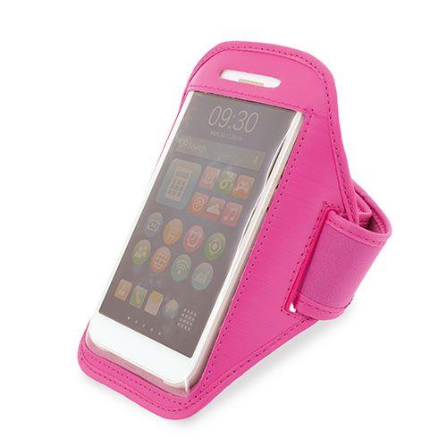 Sportovní obal na telefon růžový