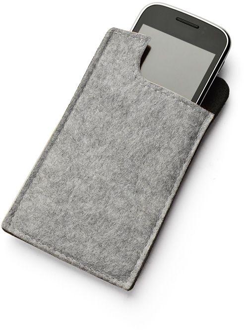 Kapsa na telefon SAKU šedá