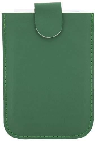 Pouzdro na karty se systémem pro snadné vyjmutí a ochranou RFID, zelená