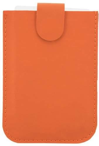 Pouzdro na karty se systémem pro snadné vyjmutí a ochranou RFID, oranžová