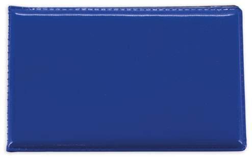 Horizontální pouzdro na 6 karet, modrá