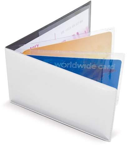 Horizontální pouzdro na 6 karet, bílá