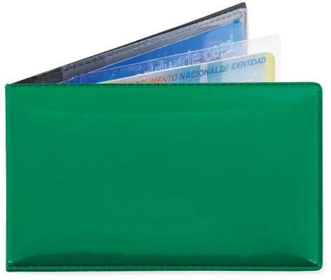 Horizontální pouzdro na 6 karet, zelená